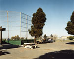Baseball Diamond and Oil Storage
